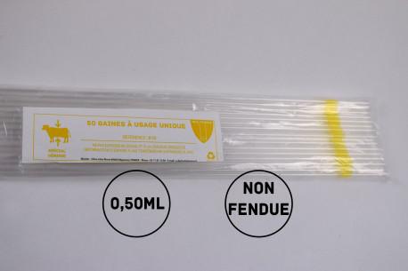 Gaines mini (génisses) - 0.5mL - NON Fendues
